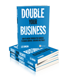 4 Double Your Business books by Lee Duncan