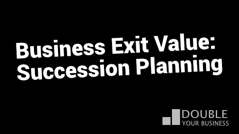 business exit plan succession planning