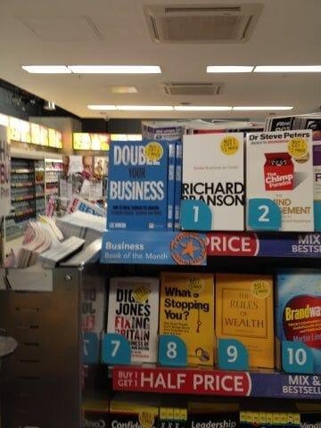 WHSmith Business Book of The Month