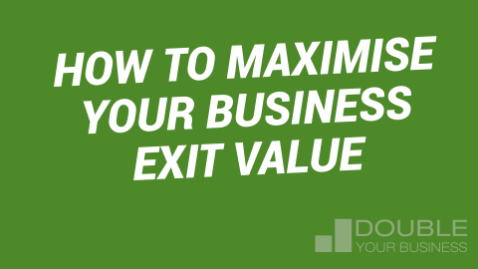 How to maximise business exit value image