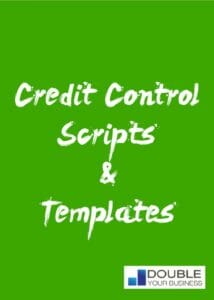 Credit control letters and scripts cover